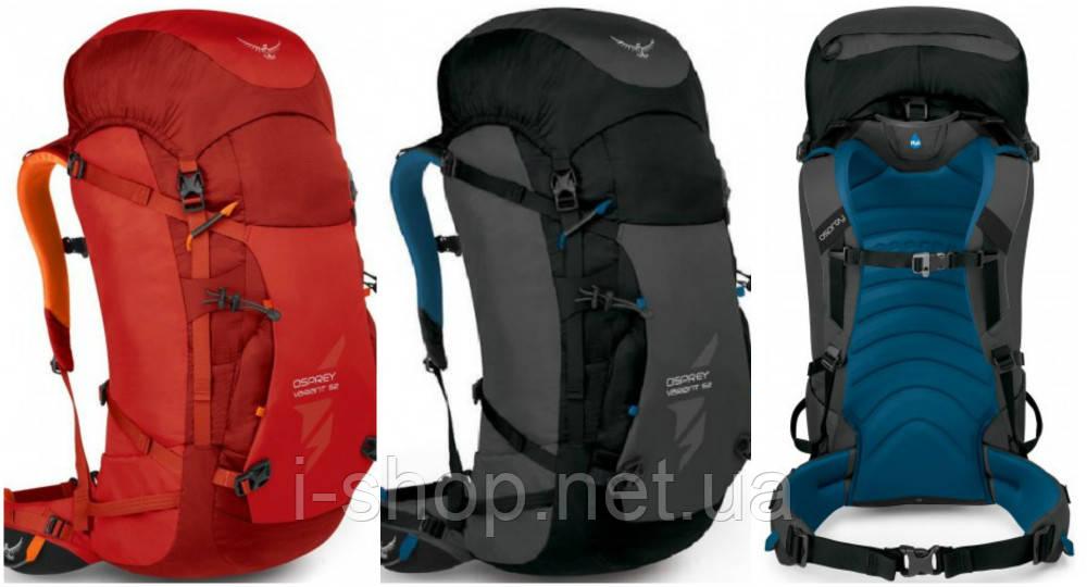 Рюкзак OSPREY VARIANT 52 (красный, черный)