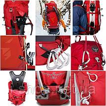 Рюкзак OSPREY VARIANT 52 (красный, черный), фото 3
