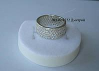 Серебряное кольцо Шик 5 рядов