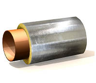 Изоляция для труб цилиндр базальтовый с покрытием фольгированный от производителя