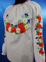 Блузка вышитая женская