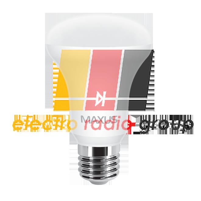 555 R63 7W 3000 K 220 V E 27 Светодиодная лампа
