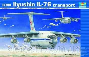 Самолет' ИЛ-76 '  1\144   TRUMPETER 03901