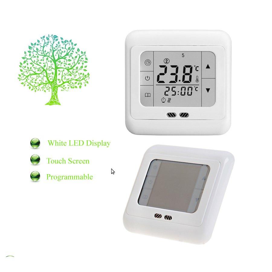 Сенсорный терморегулятор теплого пола Termo+ A007 30A