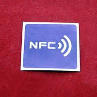 NFC метка наклейка стикер NTAG213 144байт 13.56МГц