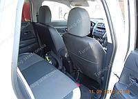 Чехлы на сиденья Пежо 4008 (чехлы из экокожи Peugeot 4008 стиль Premium)