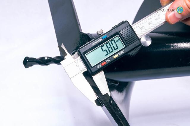 Бур к мотобуру (шнек для мотобура) 400 мм х 800 мм
