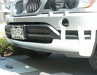 Юбка переднего бампера М-стиль для   BMW X5 (E53) 0306