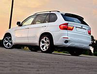 Юбка заднего бампера М-стиль для   BMW X5 (E70)