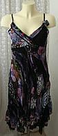 Платье женское летнее легкое изящное сарафан миди бренд Sensations р.42 6289, фото 1