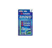 Диск VERBATIM DVD+RW 1,4Gb 4X Blister 3 pcs Hardcoat 43594
