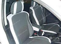 Чехлы на сиденья Пежо 4007 (чехлы из экокожи Peugeot 4007 стиль Premium)