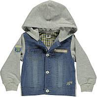 Куртка лёгкая детская джинс ТМ Bombili на мальчика / Турция / рост 104см ( 3-4 года)