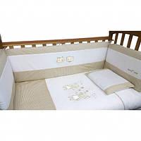 Защита бампер на кроватку Верес Fairy Tale 4 элемента