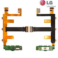 Шлейф для LG GW620, межплатный, с компонентами (оригинал)
