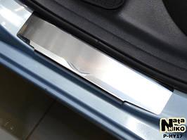 Накладки на пороги Premium Hyundai Elantra MD 2012-