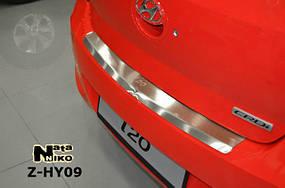 Накладки на пороги Premium Hyundai I20/ I20 FL 2009-/2012-
