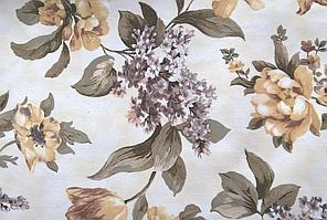 Ткань мебельная обивочная велюр ФАНТАЗИЯ ХАРДАЛ (цветочная)