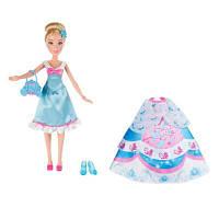Модная кукла Принцесса Золушка в  платье со сменными юбками, B5312
