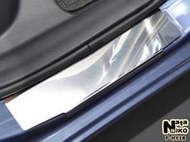 Накладки на пороги Premium Hyundai I30 II 2013-