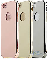 Чехол Rock Infinite Mirror Series Apple iPhone 6, iPhone 6S Rose Gold