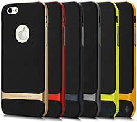 Чехол Rock Royce Series Apple iPhone 6, iPhone 6S Black / Blue