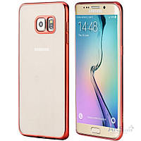 Чехол Rock Ultra Thin Flame Series Samsung G928 Galaxy S6 Edge Plus Red