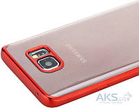 Чехол Rock TPU Ultrathin Flame Series Samsung N920 Galaxy Note 5 Red