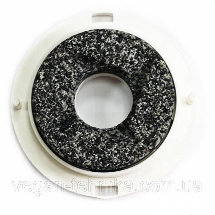 Верхний жерновой корундовый камень мельниц 75 мм