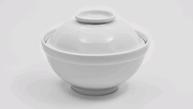 Тарелка фарфоровая для мисо-супа