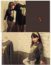 """Комплект для девочки """"Тигр"""", лосины с кофтой., фото 3"""