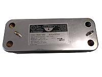 Для газовых котлов Запчасти  Теплообменник Baxi Westen на горячую воду Zilmet 16 пластин  17B2071600