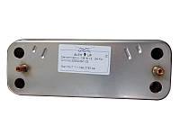 Для газовых котлов Запчасти  Теплообменник Demrad на горячую воду 12 пластин