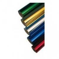Фольга для ламинатора Crown Roii LeaF 210ммх30м цвет №01 серебро