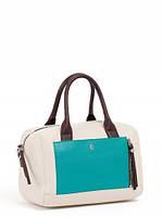 Кожаная женская сумка в 2х цветах 14490B1-W1