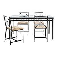 Комплект  Стол + 4 стула GRANAS