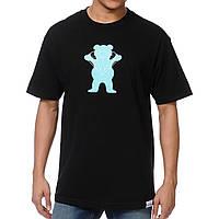 Футболка мужская стильная Diamond Supply x Grizzly Griptape Brilliant Bear