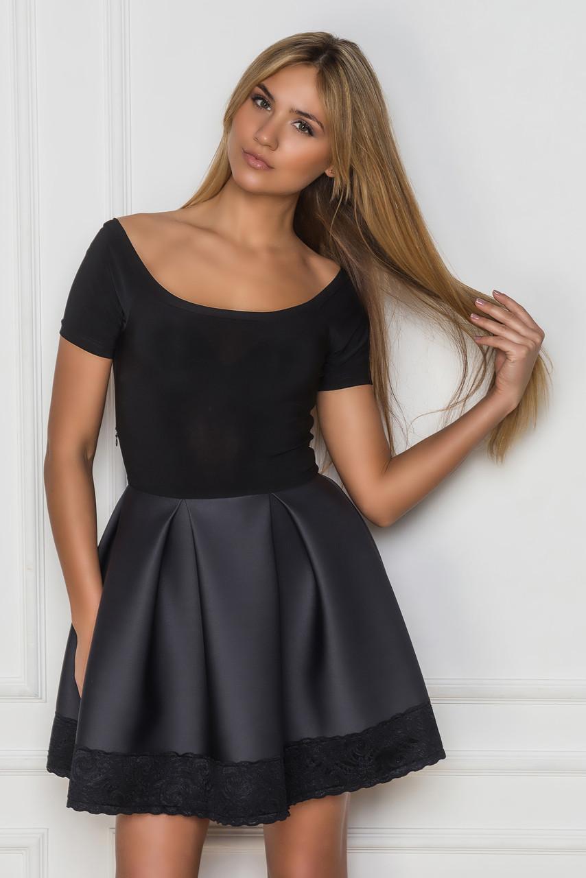 Черного цвета с кружевами фото
