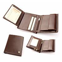 Бумажник-кошелек мужской из итальянской кожи