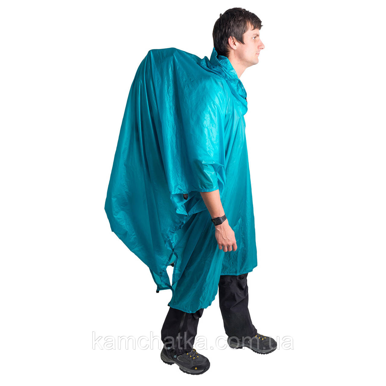 Дождевик пончо Sea to Summit Ultra-Sil Nano Tarp Poncho Blue