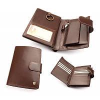 Кошелек\бумажник мужской из итальянской кожи
