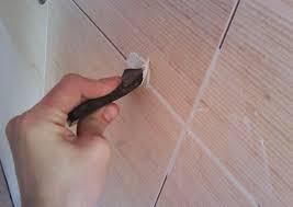 Облицовка стен керамической плиткой (с подрезкой и затиркой)