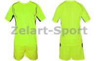 Форма футбольная без номера CO-3146-LG (PL, р-р M-46-48, L-48-50, XL-50-52, салатовая, шорты салат)