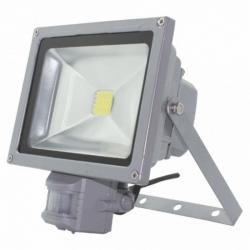 Прожектор 10 W Б-класс Sensor Белый холодный