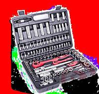 """Профессиональный набор инструментов 1/2"""" -1/4"""" 108 единиц INTERTOOL ET-6108"""