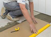 Укладка плитки на кривой пол