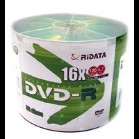 Диск RIDATA DVD-R 4,7Gb 16x Bulk 50 pcs Printable (fullface)