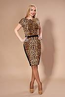 Модное женское платье в принт, фото 1
