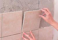 Укладка облицовочной плитки на стены и пол