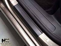 Накладки на пороги Premium Infiniti EX 2009-